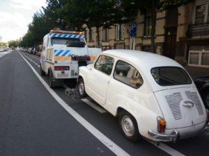 assistance et remorquage de voiture