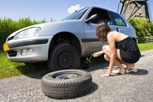 Assistance et dépannage pneu à plat